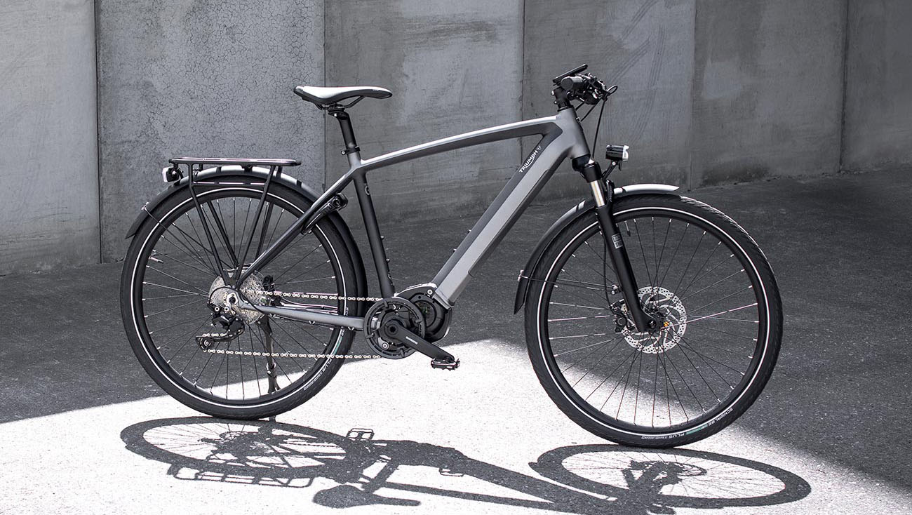 Triumph's First Electric Bicycle – Trekker