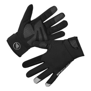 Endura Strike Waterproof Cycling Gloves - Black