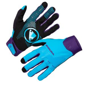 Endura MT500 D3O® MTB Glove - Electric Blue