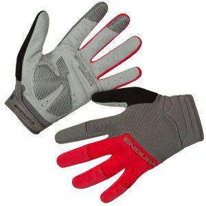 Endura Hummvee Plus Cycle Glove II - Red