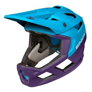 Endura MT500 Full Face MTB Helmet - Electric Blue
