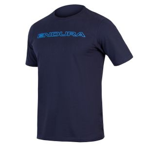 Endura One Clan Carbon T-Shirt - Navy Blue