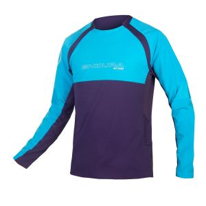 Endura MT500 Burner L/S MTB Jersey II - Electric Blue