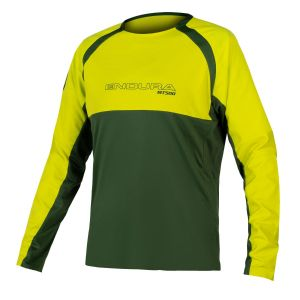 Endura MT500 Burner L/S MTB Jersey II - Forest Green