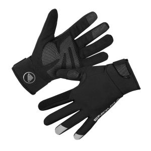 Endura Women's Strike Waterproof Cycle Gloves - Black