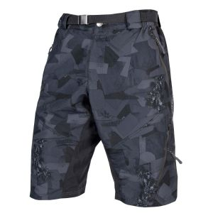 Endura Hummvee Short II with liner - Grey Camo