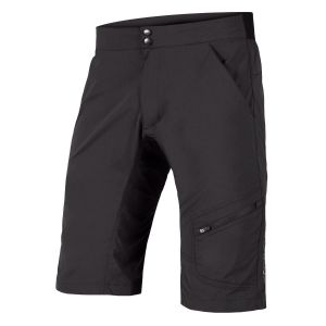 Endura Hummvee Men's Lite Cycle Shorts with Liner - Black