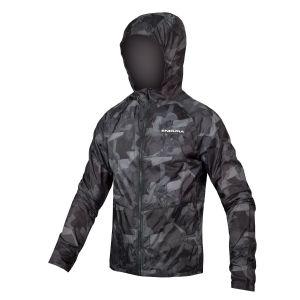 Endura SingleTrack DuraJak Mens Cycle Jacket - Grey Camo