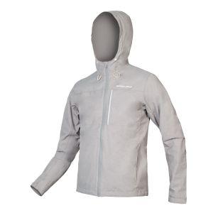 Endura Hummvee Waterproof Hooded MTB Jacket - Fossil Grey