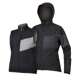 Endura Women's Urban Luminite 3 in 1 Jacket II - Black