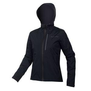Endura Womens Hummvee Waterproof Hooded Cycle Jacket - Black