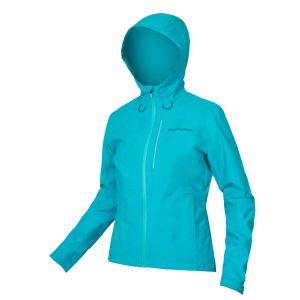 Endura Womens Hummvee Waterproof Hooded Cycle Jacket - Blue