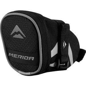 Merida Saddle Bag – Small – Black / Grey