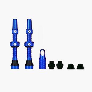 Muc-Off Tubeless Valves - Blue - 44mm