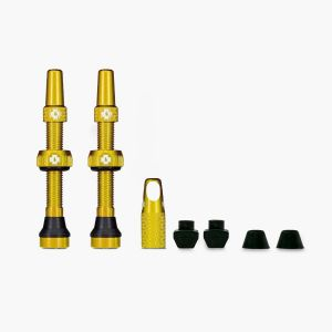 Muc-Off Tubeless Valves - Gold - 44mm