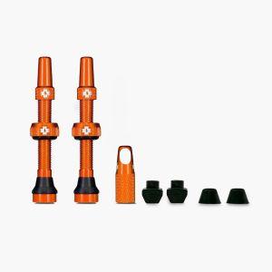Muc-Off Tubeless Valves - Orange - 44mm