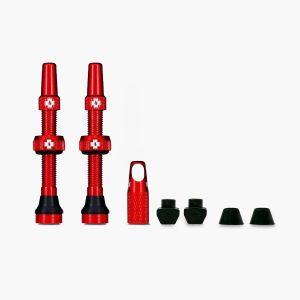 Muc-Off Tubeless Valves - Red - 44mm