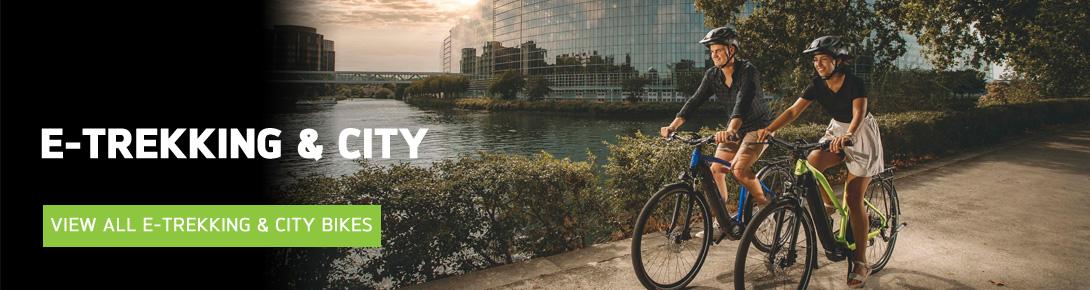 E-TREKKING & CITY BIKES